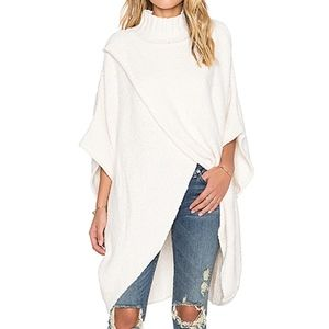 Free People All wrapped Up Cotton Sweater Sz  Xs S